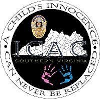 ICAC Southern Virginia logo - A Child's Innocence Can Never be Replaced