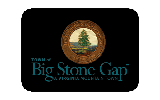 Town of Big Stone Gap logo - A Virginia Mountain Town