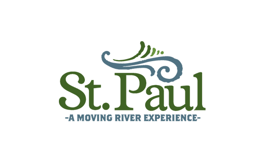 St. Paul logo - A moving river experience