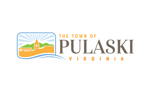 The Town of Pulaski Virginia logo