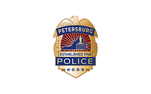 Petersburg Police Department Badge