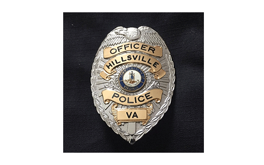 Hillsville Police Department Badge