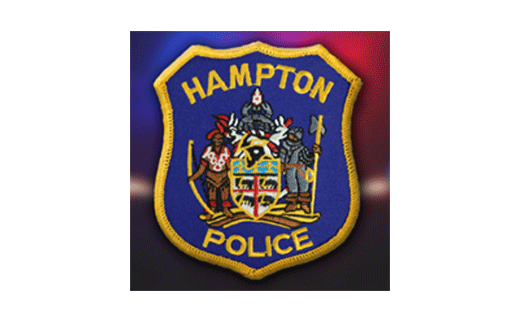 Hampton Police Department Badge