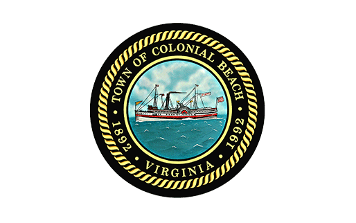 Town of Colonial Beach Virginia logo
