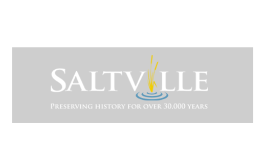 Saltville logo - Preserving History for over 30,000 years