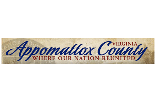 Appomattox County Virginia logo - Where our nation reunited
