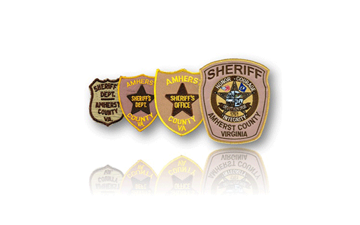 Amherst County Sheriff's Badges