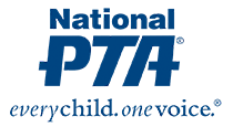 National PTA logo - every child one voice