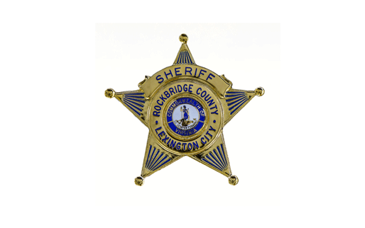 Rockbridge County Sheriff's Badge