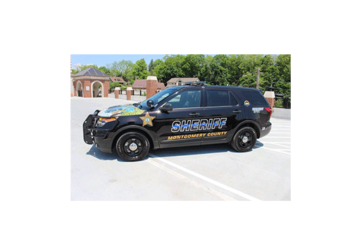 Montgomery County Sheriff's vehicle