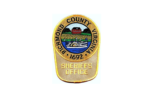 Richmond County Virginia Sheriff's Office badge
