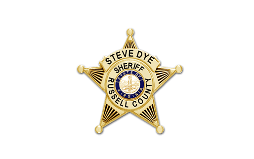 Russell County Sheriff's Badge