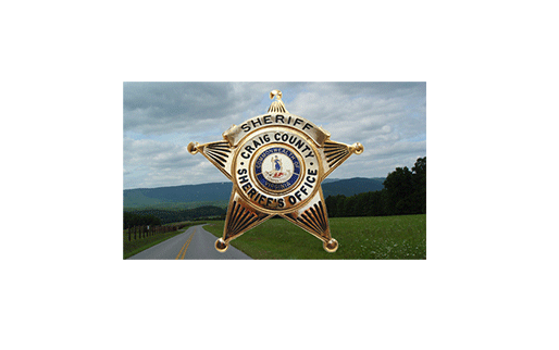 Craig County Sheriff's Badge