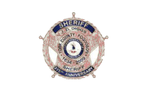 York County Sheriff's badge