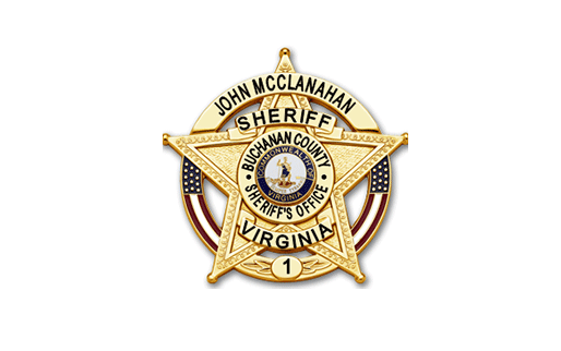 Buchanan County Sheriff's Badge